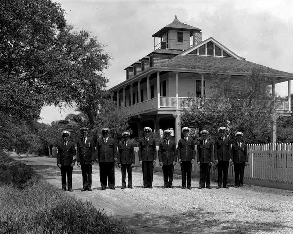 Coast Guard Station, Fonville Winans