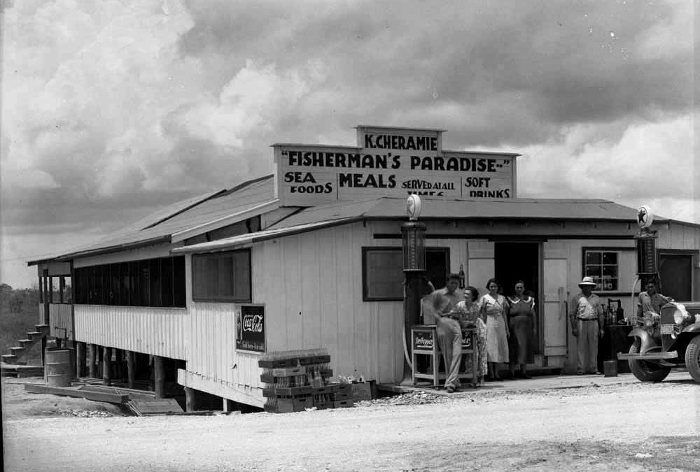 Cheramie Store and Restaurant, Fonville Winans